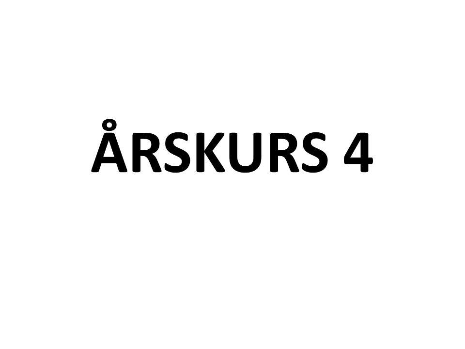 ÅRSKURS 4