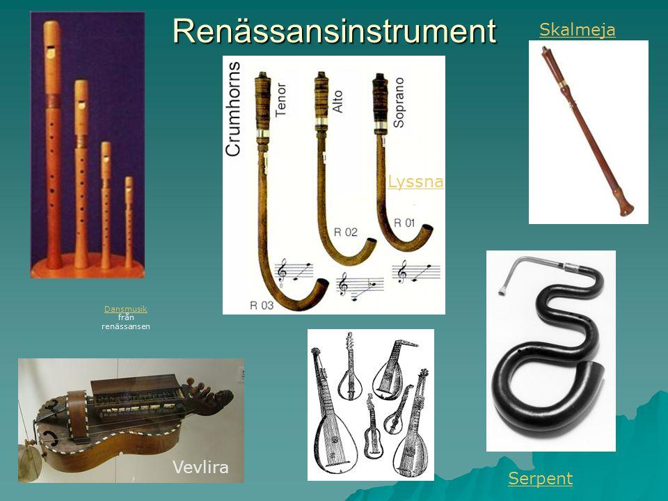 Dansmusik från renässansen