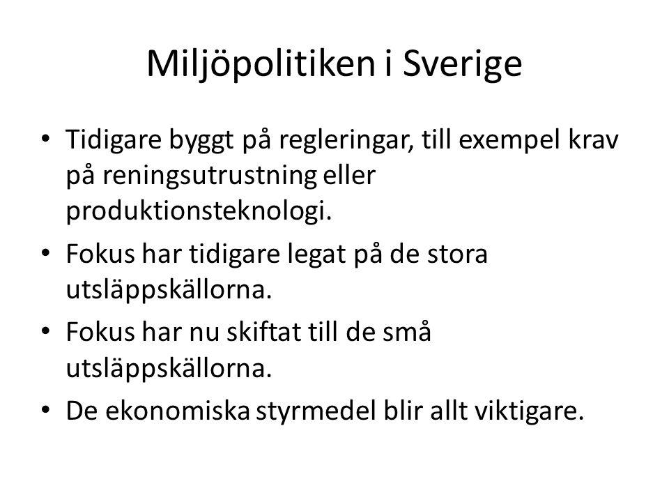 Miljöpolitiken i Sverige
