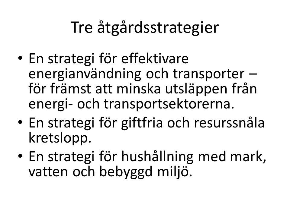 Tre åtgårdsstrategier