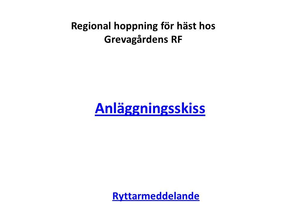 Regional hoppning för häst hos Grevagårdens RF