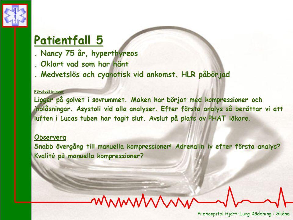 Patientfall 4 . Rolf 55 år, hypertoni