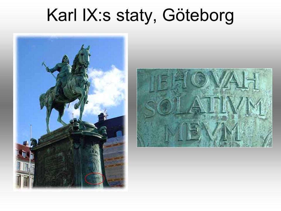 Karl IX:s staty, Göteborg