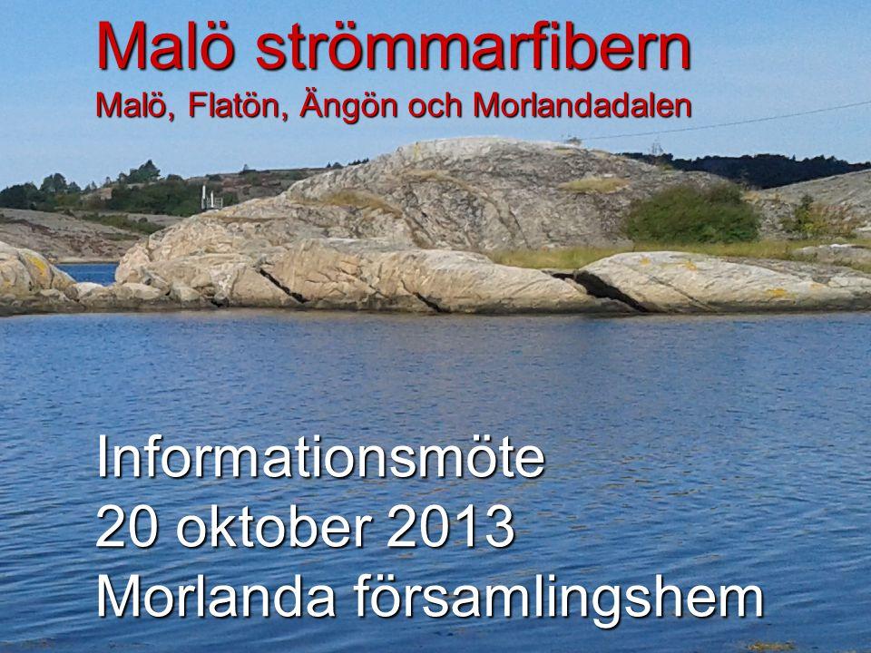 Malö strömmarfibern Malö, Flatön, Ängön och Morlandadalen
