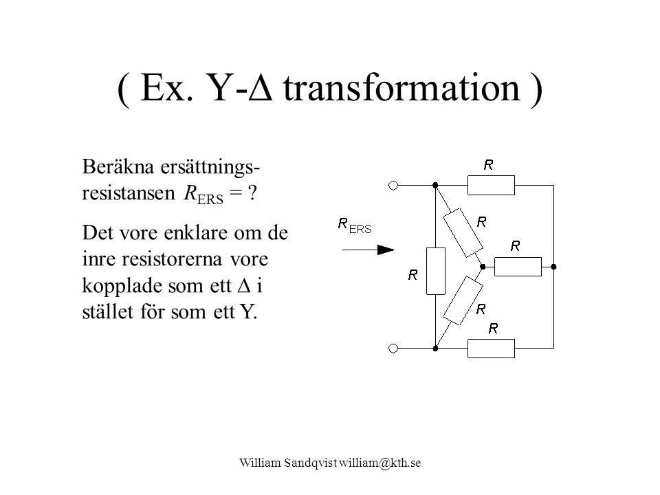( Ex. Y- transformation )