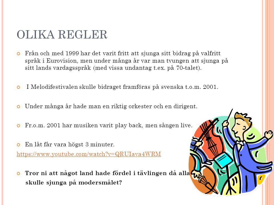 OLIKA REGLER