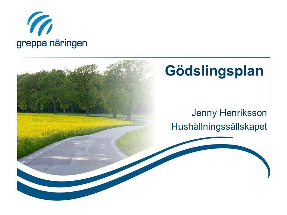 Jenny Henriksson Hushållningssällskapet