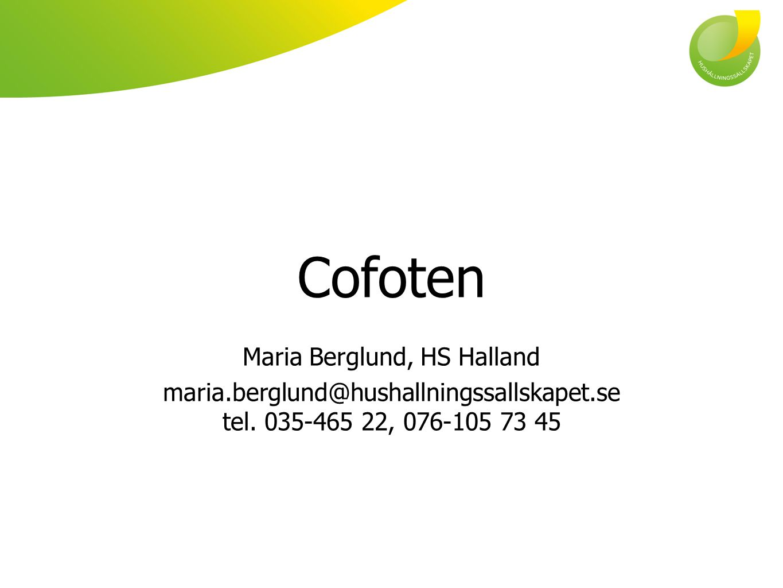 Maria Berglund, HS Halland