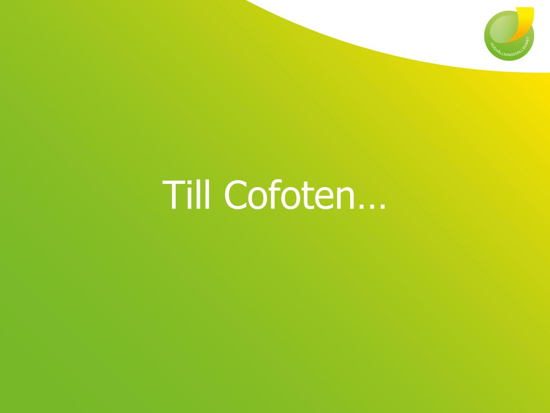 Till Cofoten…