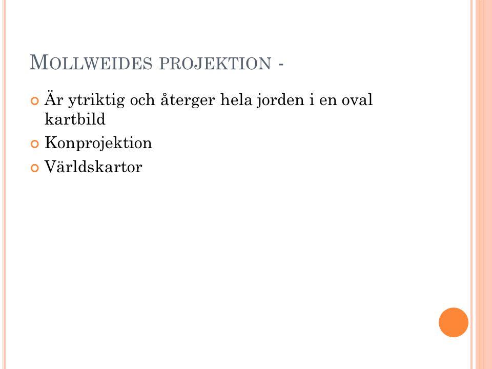 Mollweides projektion -