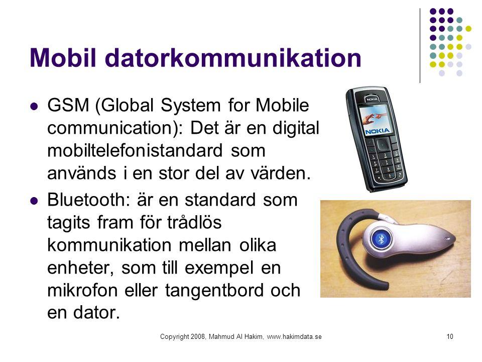 Mobil datorkommunikation