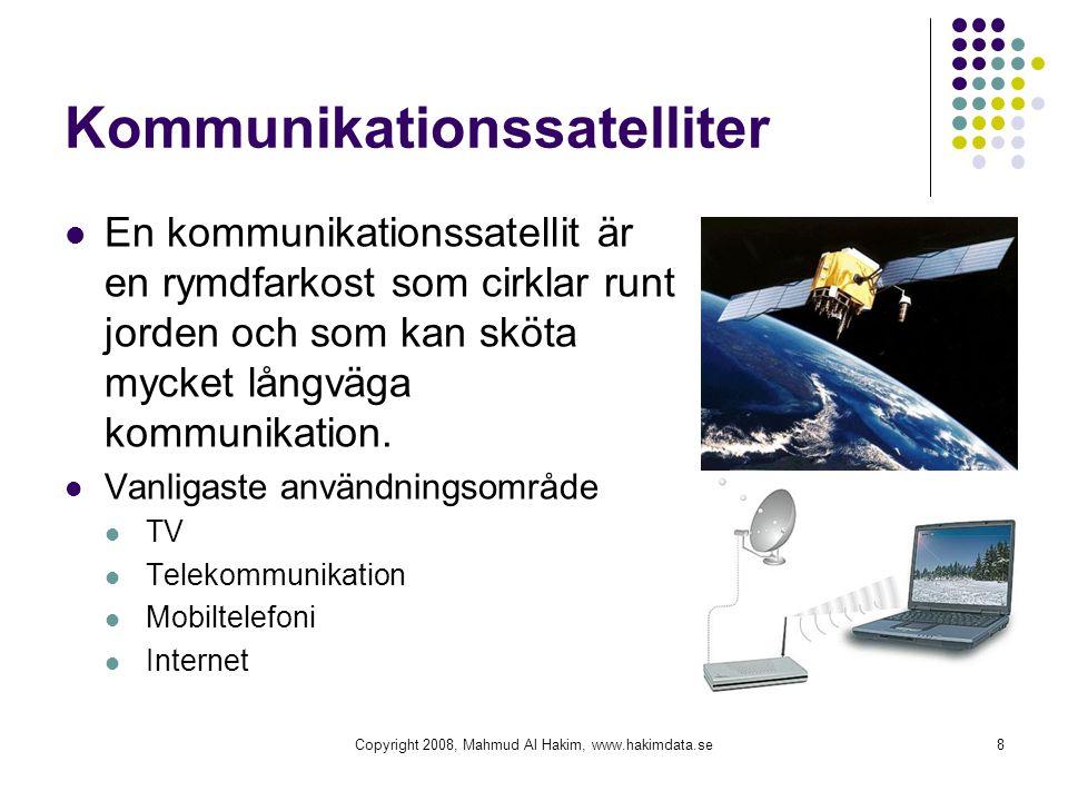 Kommunikationssatelliter