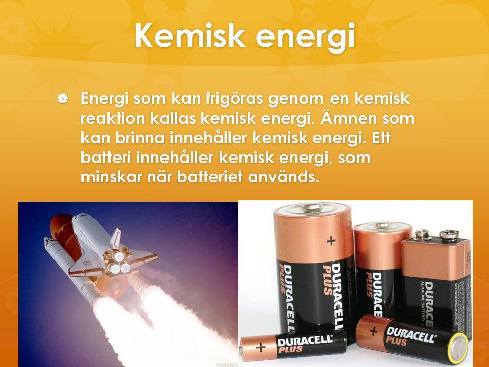Kemisk energi