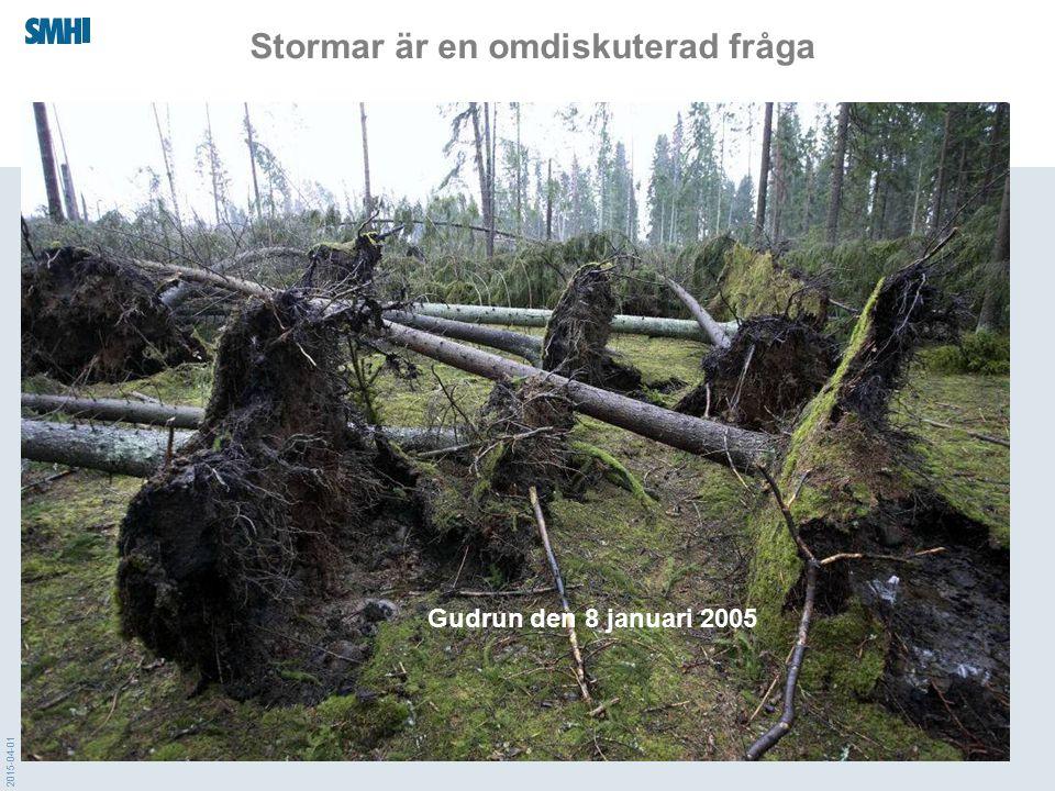 Stormar är en omdiskuterad fråga