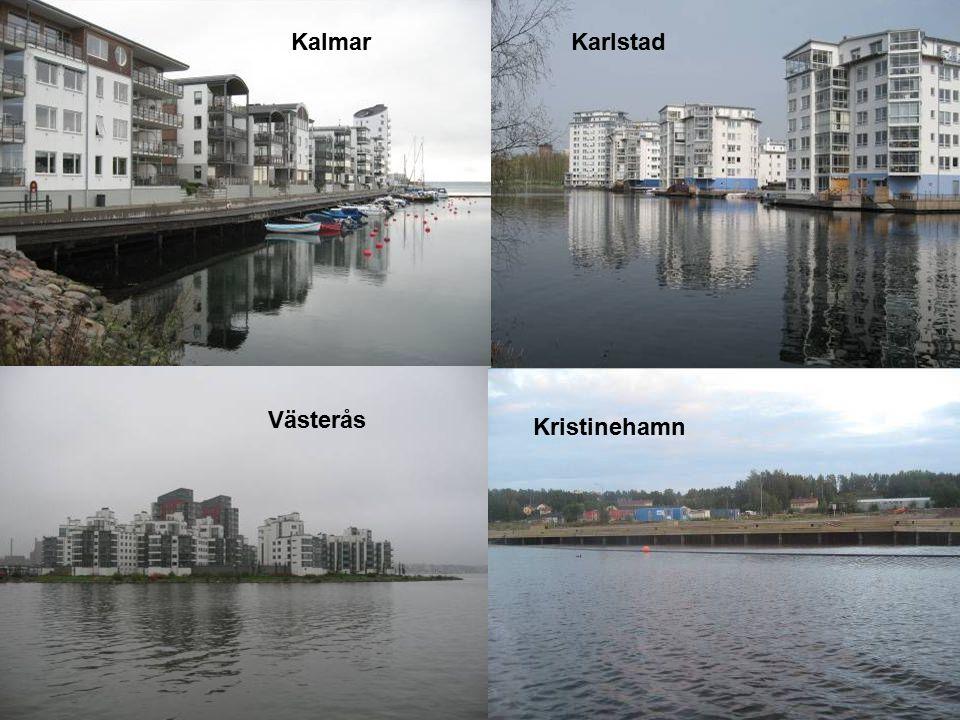 Kalmar Karlstad Västerås Kristinehamn 2017-04-09