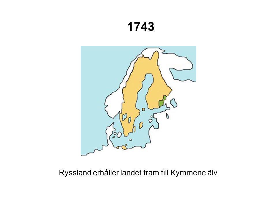 Ryssland erhåller landet fram till Kymmene älv.