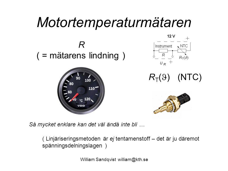 Motortemperaturmätaren