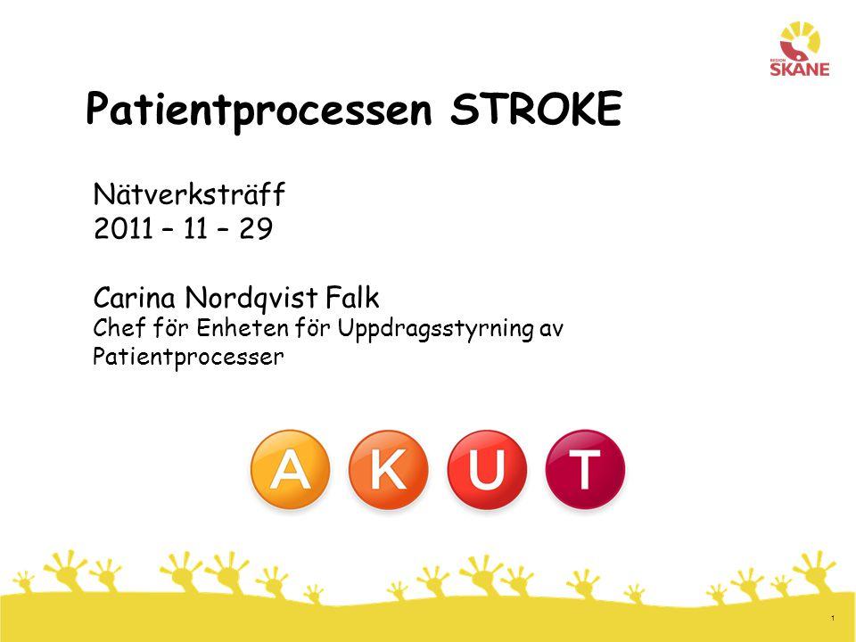Patientprocessen STROKE