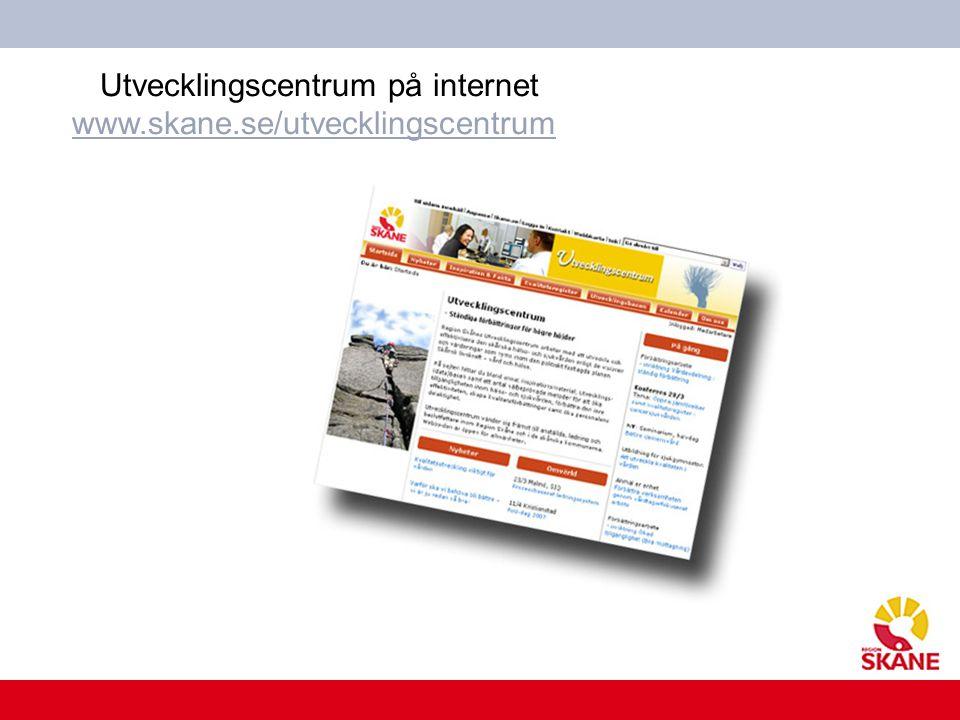 Utvecklingscentrum på internet