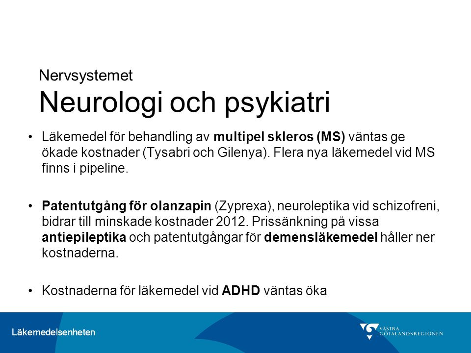 Nervsystemet Neurologi och psykiatri