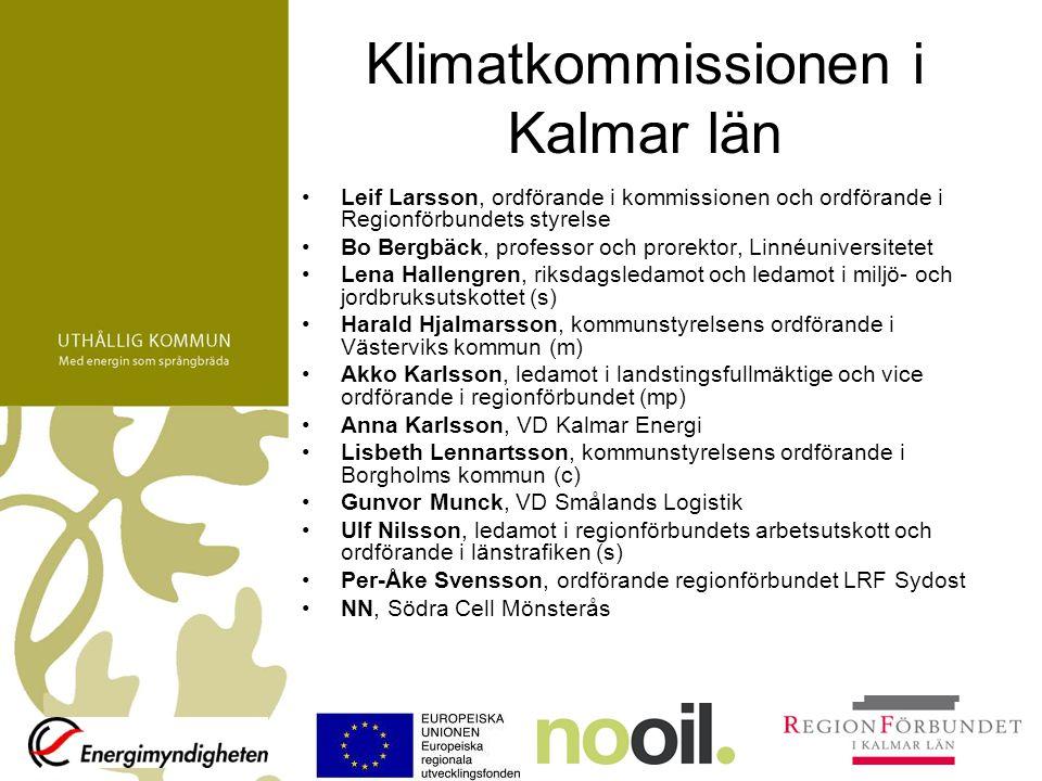 Klimatkommissionen i Kalmar län