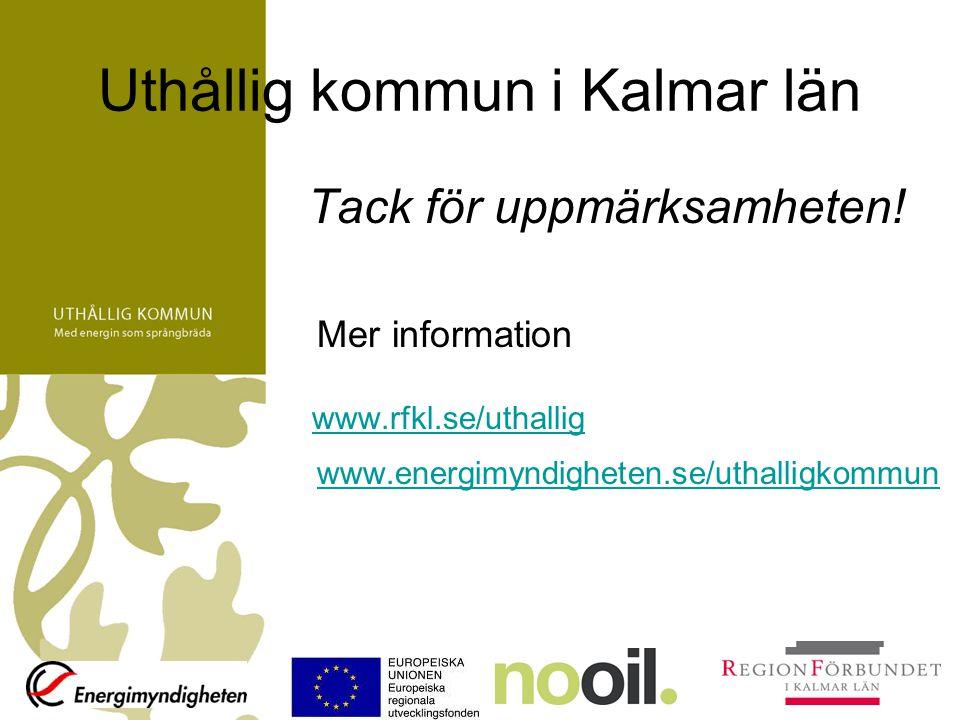 Uthållig kommun i Kalmar län