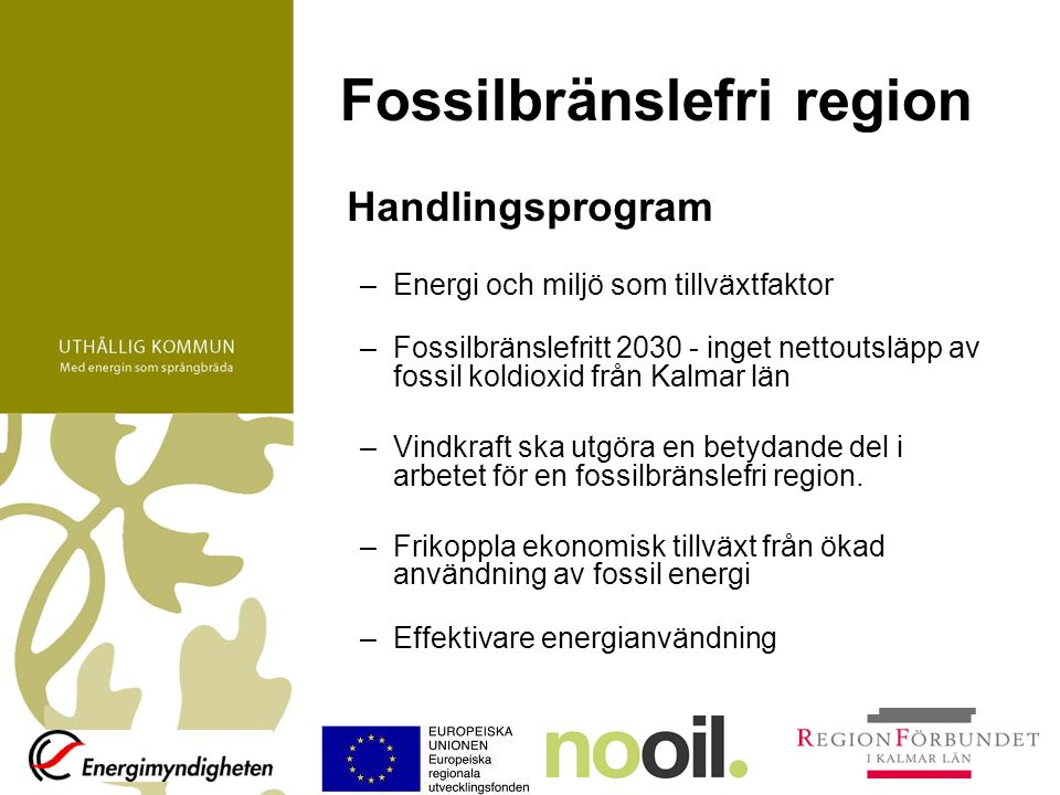 Fossilbränslefri region