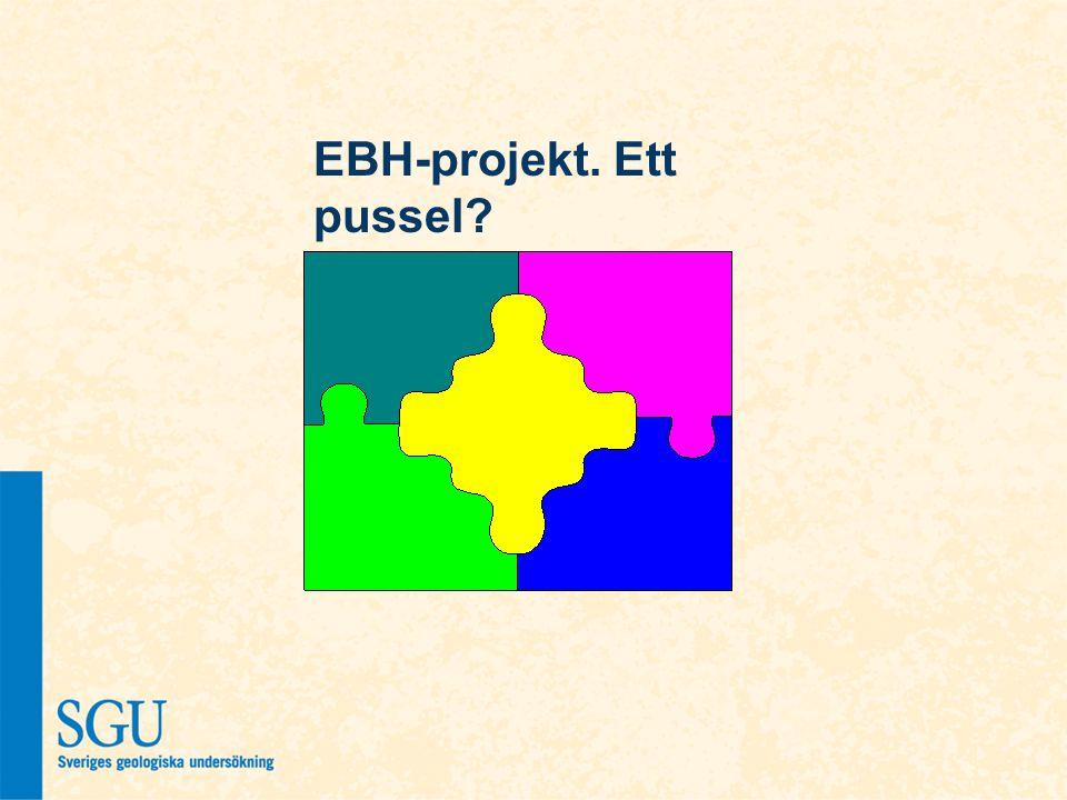 EBH-projekt. Ett pussel