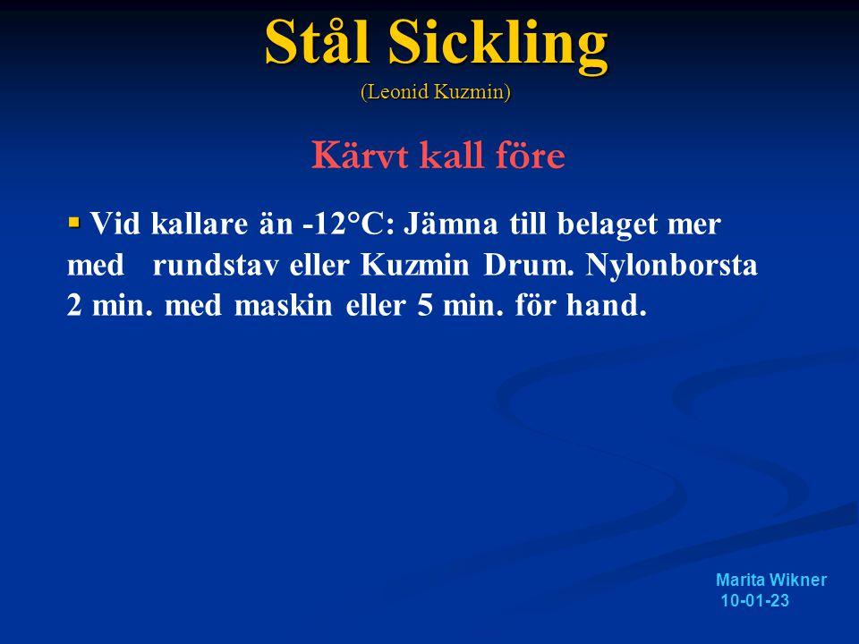 Stål Sickling (Leonid Kuzmin) Kärvt kall före