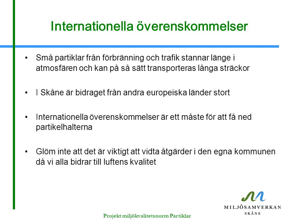 Internationella överenskommelser