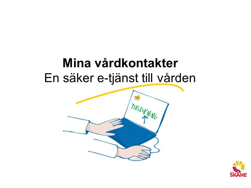 En säker e-tjänst till vården