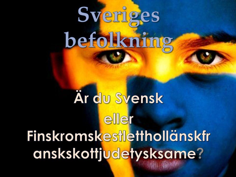 Är du Svensk eller Finskromskestletthollänskfranskskottjudetysksame