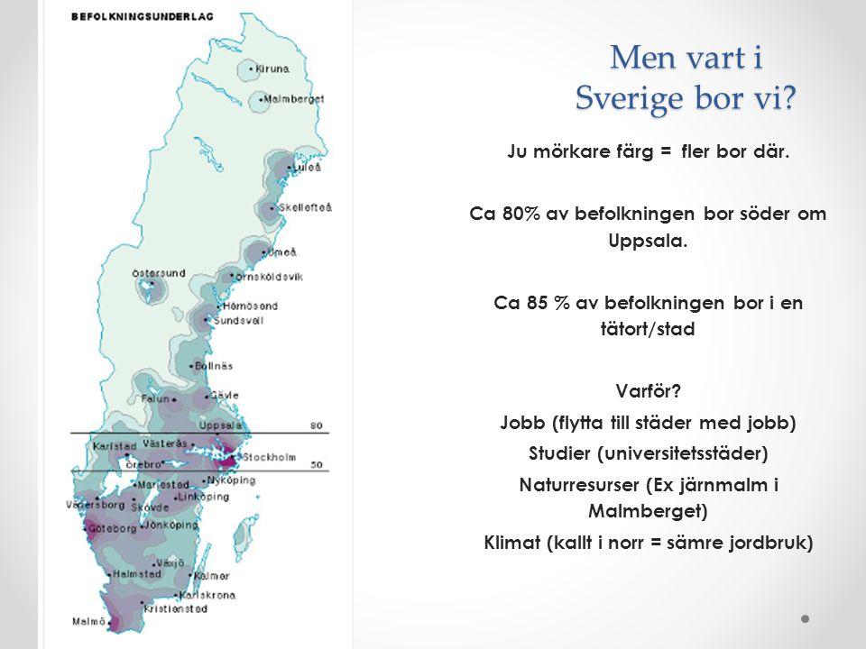 Men vart i Sverige bor vi