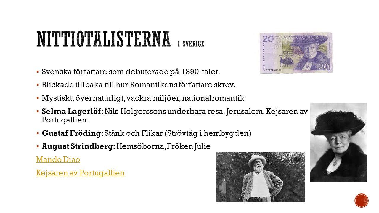 Nittiotalisterna i Sverige