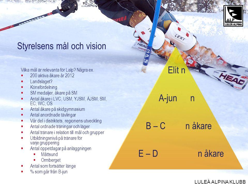 Styrelsens mål och vision