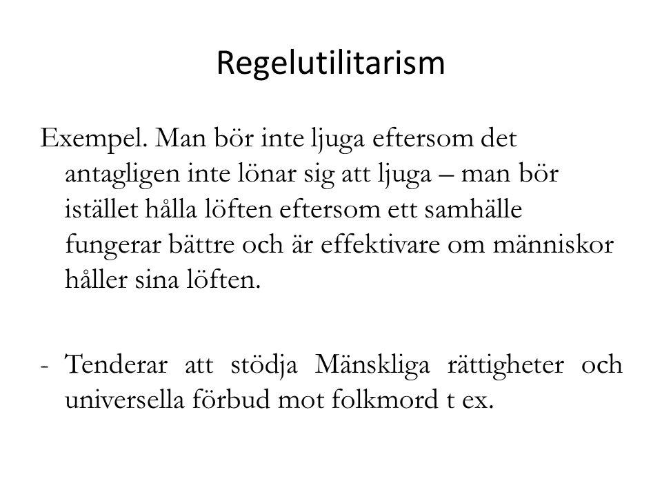 Regelutilitarism