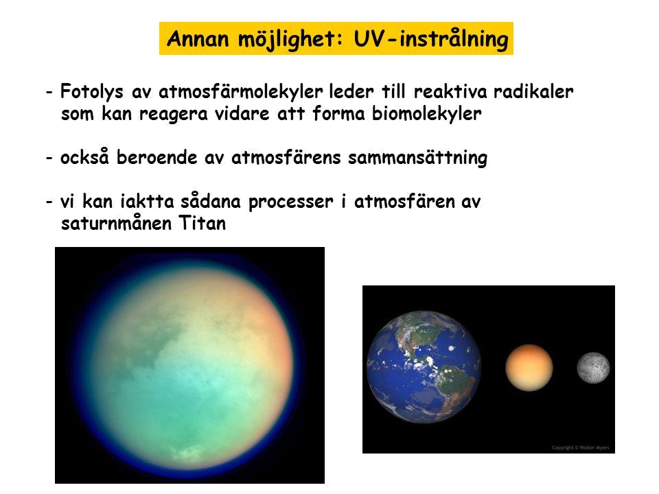 Annan möjlighet: UV-instrålning