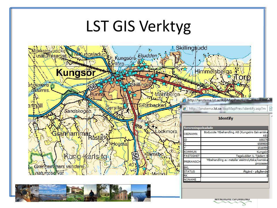 LST GIS Verktyg