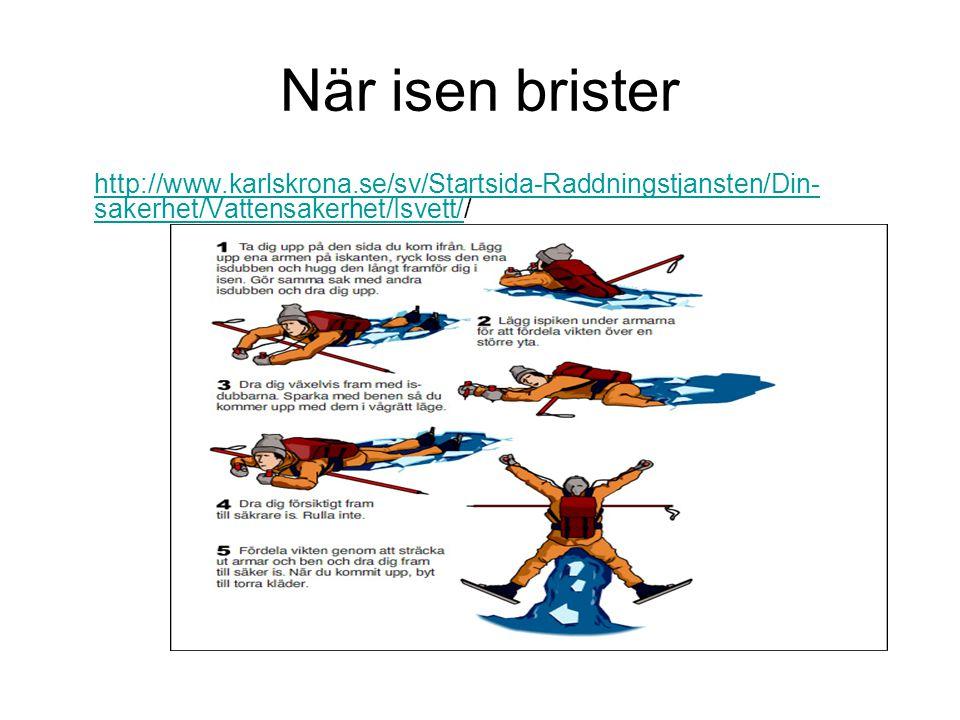 När isen brister http://www.karlskrona.se/sv/Startsida-Raddningstjansten/Din-sakerhet/Vattensakerhet/Isvett//