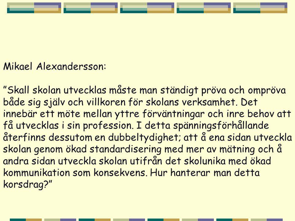 Mikael Alexandersson: