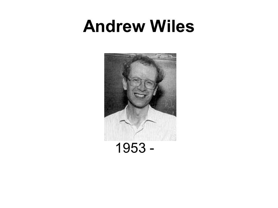 Andrew Wiles 1953 -