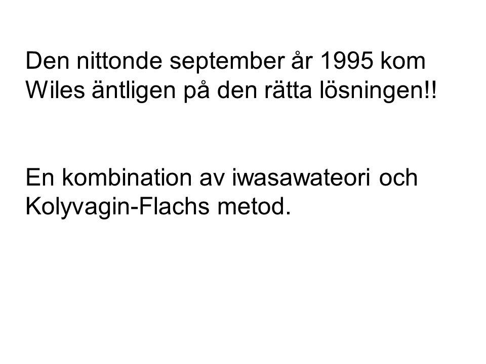 Den nittonde september år 1995 kom