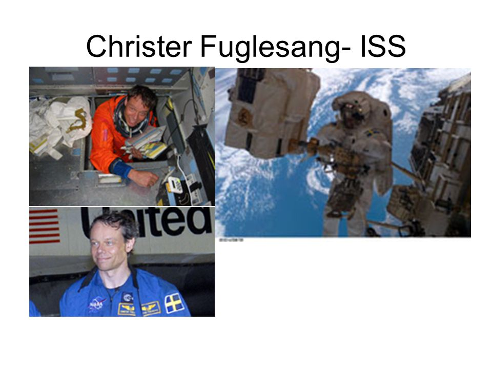 Christer Fuglesang- ISS