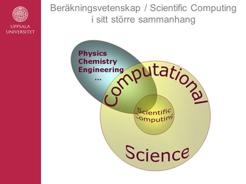 Beräkningsvetenskap / Scientific Computing i sitt större sammanhang