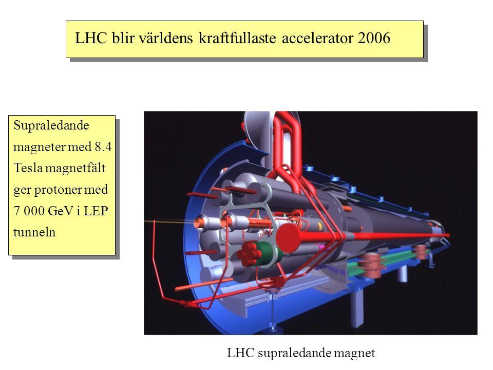 LHC blir världens kraftfullaste accelerator 2006