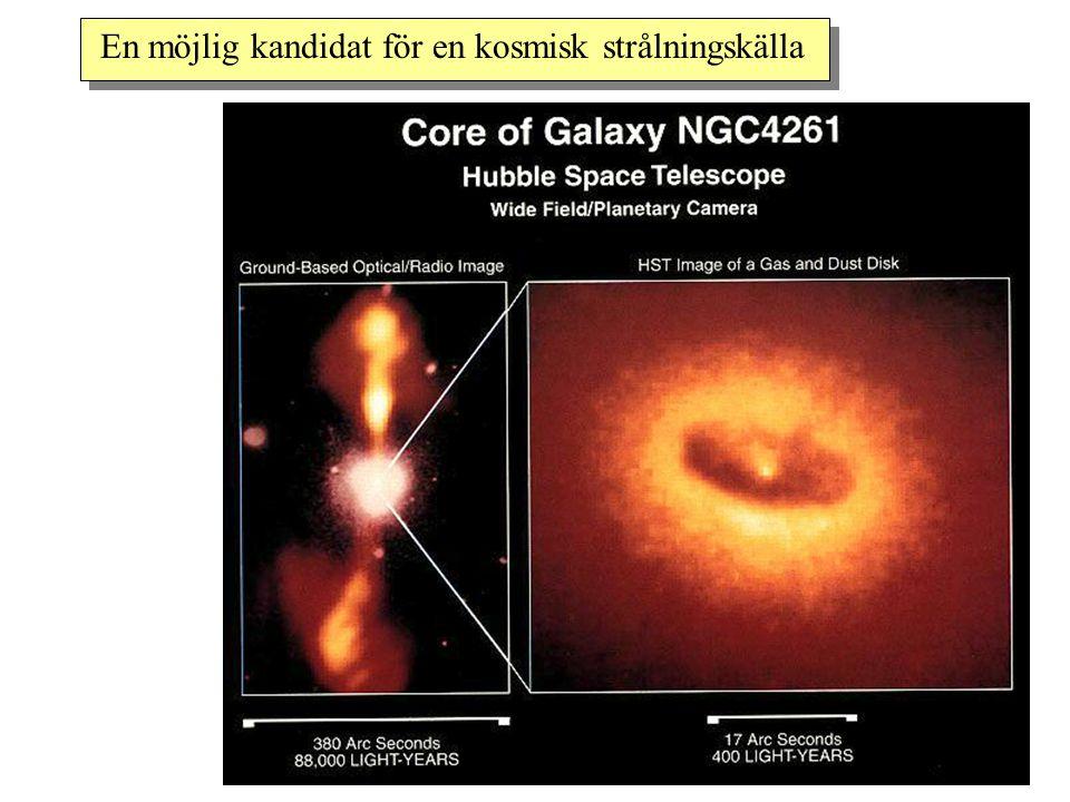 En möjlig kandidat för en kosmisk strålningskälla