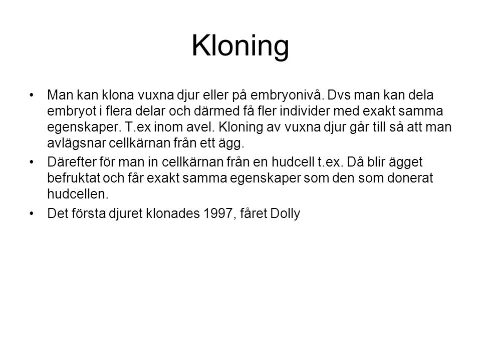 Kloning