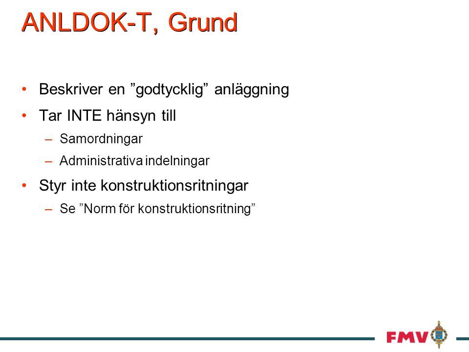 ANLDOK-T, Grund Beskriver en godtycklig anläggning