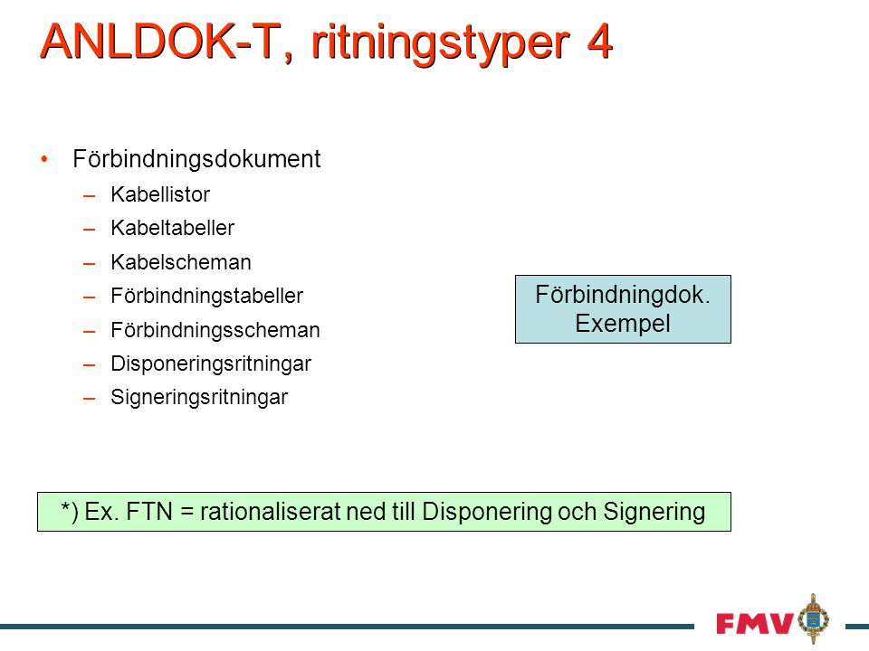 ANLDOK-T, ritningstyper 4
