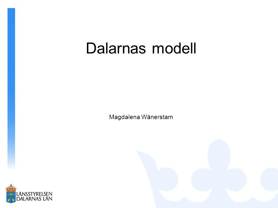 Dalarnas modell Magdalena Wänerstam
